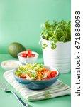 Healthy Vegan Avocado Salad...