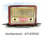hand drawn illustration of a... | Shutterstock . vector #67193920