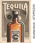 Tequila Promotional Retro...
