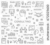 modern line web concept for... | Shutterstock .eps vector #672025600