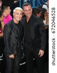 """Small photo of NEW YORK - JUNE 12, 2017: Colton Haynes and Jeff Leatham attend the premiere of """"Rough Night"""" at the AMC Lincoln Square Theater on June 12, 2017 in New York City."""