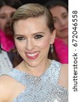 """Small photo of NEW YORK - JUNE 12, 2017: Scarlett Johansson attends the premiere of """"Rough Night"""" at the AMC Lincoln Square Theater on June 12, 2017 in New York City."""