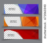 vector abstract design banner... | Shutterstock .eps vector #672063340