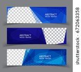 vector abstract design banner... | Shutterstock .eps vector #672063358