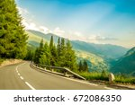 Picturesque Alp\'s Road