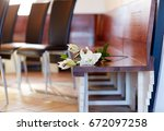 funeral and mourning concept  ...   Shutterstock . vector #672097258