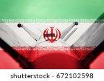 weapons of mass destruction....   Shutterstock . vector #672102598