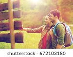 adventure  travel  tourism ... | Shutterstock . vector #672103180