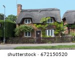 Thatched House In Uk