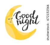Baby Print Vector With Moon An...