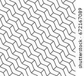 vector seamless pattern. modern ... | Shutterstock .eps vector #672167089