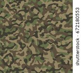 military camouflage. seamless... | Shutterstock .eps vector #672180553