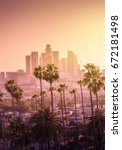 Beautiful Sunset Of Los Angele...