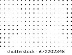 abstract halftone dotted... | Shutterstock .eps vector #672202348