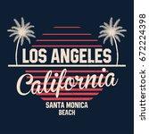 80s style vintage california...   Shutterstock .eps vector #672224398