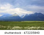 view of the high tatras | Shutterstock . vector #672235840