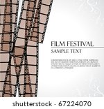 filmstrip vector template | Shutterstock .eps vector #67224070