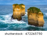 Two Rock Columns  Stacks In...
