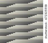 seamless horizontal line... | Shutterstock .eps vector #672325558