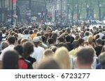 crowd of people | Shutterstock . vector #6723277
