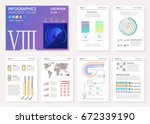 infographic set. big set of ... | Shutterstock .eps vector #672339190