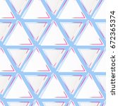 glass triangle pattern vector | Shutterstock .eps vector #672365374