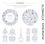 flat line illustration of... | Shutterstock . vector #672448174