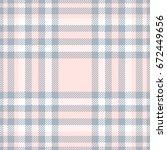 seamless tartan plaid pattern.... | Shutterstock .eps vector #672449656