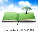 international day of peace... | Shutterstock . vector #672491434