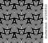 design seamless monochrome... | Shutterstock .eps vector #672535513