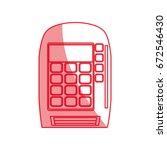 dataphone online payment | Shutterstock .eps vector #672546430