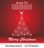 abstract christmas background | Shutterstock .eps vector #67256662