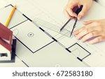 business  architecture ... | Shutterstock . vector #672583180