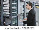young engeneer business man... | Shutterstock . vector #67263820