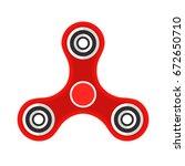 spinner flat style design... | Shutterstock .eps vector #672650710