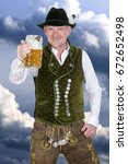 Bavarian Man In Traditional...