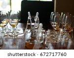 whiskey tasting | Shutterstock . vector #672717760