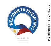 Welcome To Philippines Flag...
