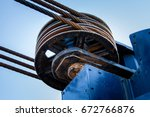 Steel pulley wheel with three...