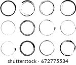 vector frames. circle for image.... | Shutterstock .eps vector #672775534