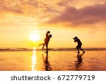 photographer photographing a... | Shutterstock . vector #672779719