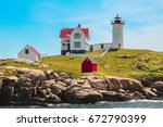 Midday At Nubble Lighthouse Aka ...