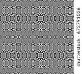 seamless pattern with black... | Shutterstock .eps vector #672791026