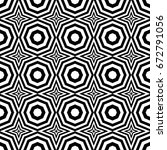 seamless pattern with black... | Shutterstock .eps vector #672791056