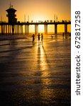 Huntington Beach Sunset...