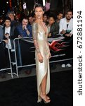"""Small photo of LOS ANGELES, CA - JANUARY 19, 2017: Ruby Rose at the Los Angeles premiere for """"XXX: Return of Xander Cage"""" at the TCL Chinese Theatre, Hollywood."""