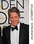 Small photo of LOS ANGELES, CA - JANUARY 8, 2017: Hugh Grant at the 74th Golden Globe Awards at The Beverly Hilton Hotel, Los Angeles