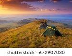the waste ground between...   Shutterstock . vector #672907030