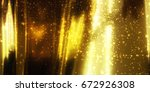 golden image for shiny and... | Shutterstock . vector #672926308