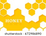 honeycomb background. vector...